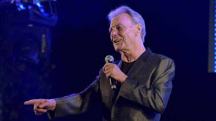 Le chanteur Herbert Léonard en 2015  (SADAKA EDMOND/SIPA)