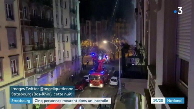 Incendie à Strasbourg : l'hypothèse d'une défaillance électrique écartée, deux personnes en garde à vue