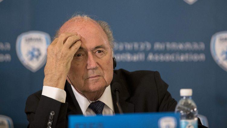 (L'UEFA enjoint Joseph Blatter de reporter le scrutin présidentiel de la Fifa © MAXPPP)