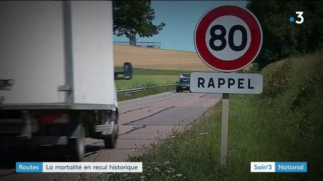 Sécurité routière : la route n'a jamais aussi peu tué