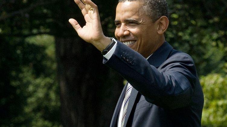Le Président Barack Obama à la Maison blanche à Washington, le 29 juin 2012. (NICHOLAS KAMM / AFP)
