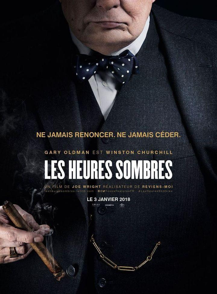 """""""Les Heures sombres"""" : l'affiche française  (Universal Pictures International France)"""