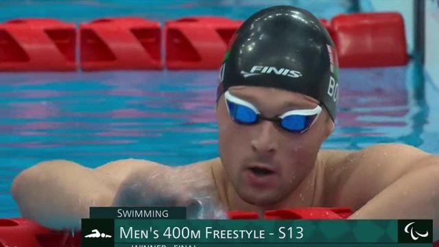 Très belle médaille de bronze pour la natation française. Alex Portal réussit à se hisser sur le podium.Un trio de tête mené par l'intouchable Ihar Boki qui glane sa troisième médaille d'or.
