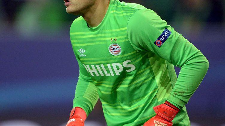 Jeroen Zoet, gardien du PSV Eindhoven  (PETER STEFFEN / DPA)