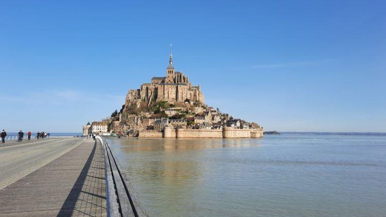 Le Mont-Saint-Michel (ANNE CHEPEAU / FRANCEINFO)