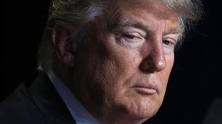 Le Pésident des Etats-Unis, Donald Trump, le 2 février 2017. (WIN MCNAMEE / DPA)