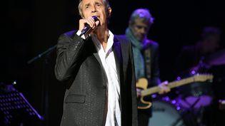 Julien Clerc en concert aux Musicales du Parc des Oiseaux le 30 août 2020 (CATHERINE AULAZ / MAXPPP)