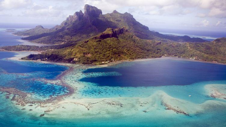 L'ile de Bora Bora en Polynésie française. (GETTY IMAGES)