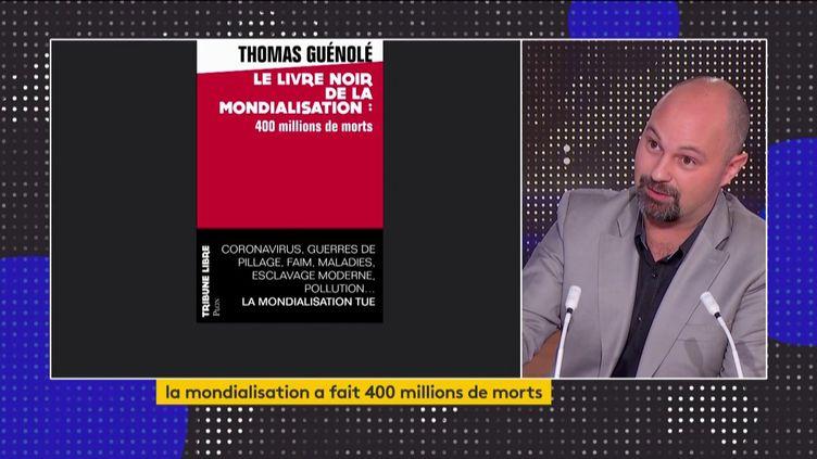 Thomas Guénolé et son livre (FRANCEINFO)