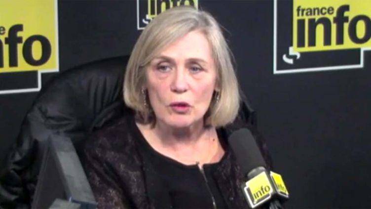 (Bénédicte Meï, la mère de Lucie Meï-Dalby, tuée lors de l'accident © Radio France)