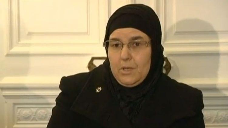 La mère deMohamed Laidouni en avril 2013. ( FRANCE 2 / FRANCETV INFO)