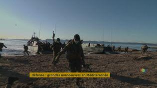 Opération militaire à Toulon (France 3 Provence-Alpes)