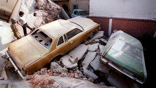 Tremblement de terre au Mexique, le 19 septembre 1985. (AFP)