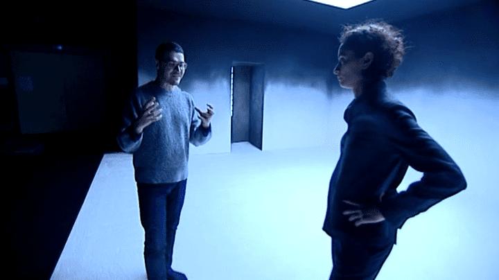 La comédienne Rachida Brakni et le metteur en scène de la pièce Arnaud Meunier  (Culturebox / Capture d'écran)