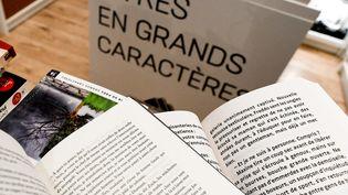Librairie des Grands Caractères, 7 janvier 2021 (ALAIN JOCARD / AFP)