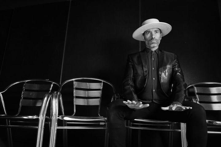 """Israël Galvan pendant les répétitions de """"La Fiesta"""" à Avignon (2017)  (Rubén Camacho)"""