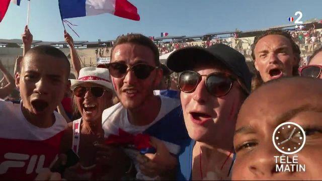 Coupe du monde : la fiesta dans les arênes de Fréjus