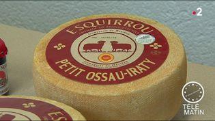 L'Esquirrou a été élu meilleur fromage du monde en 2018 (France 2)
