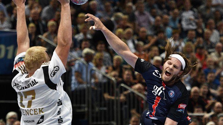 Le Danois du PSG, Mikkel Hansen (SASCHA SCHUERMANN / AFP)