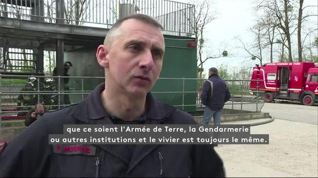 Baisse des candidats : opération séduction des pompiers de Paris
