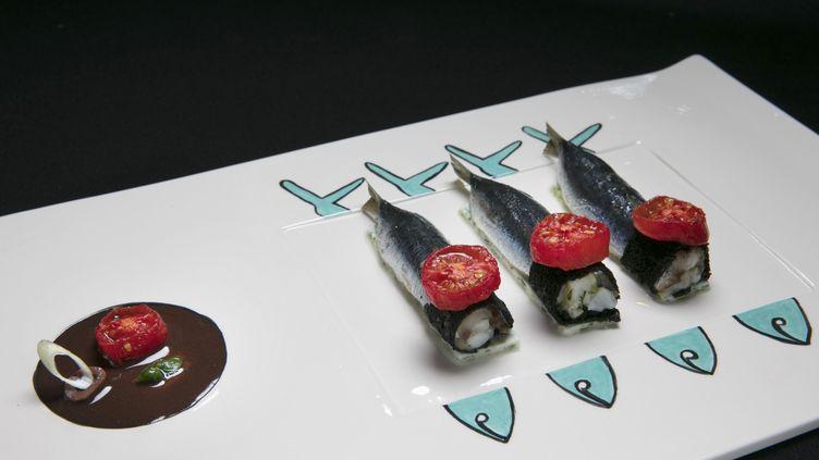 L'assiette de sardines farcies signée Christian Sinicropi (C. SINICROPI / J. KELAGOPIAN)