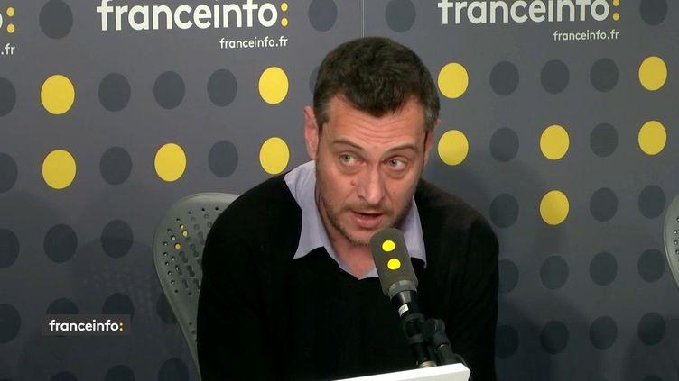Florent Gueguen, directeur de la Fédération des acteurs de la solidarité (FAS). (FRANCEINFO / RADIOFRANCE)