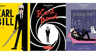 Karlywood : 3 affiches de l'exposition réalisée avec Tiffany Cooper  (Tiffany Cooper)