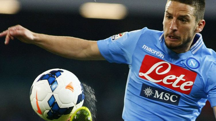 Dries Mertens (Naples) (CARLO HERMANN / AFP)