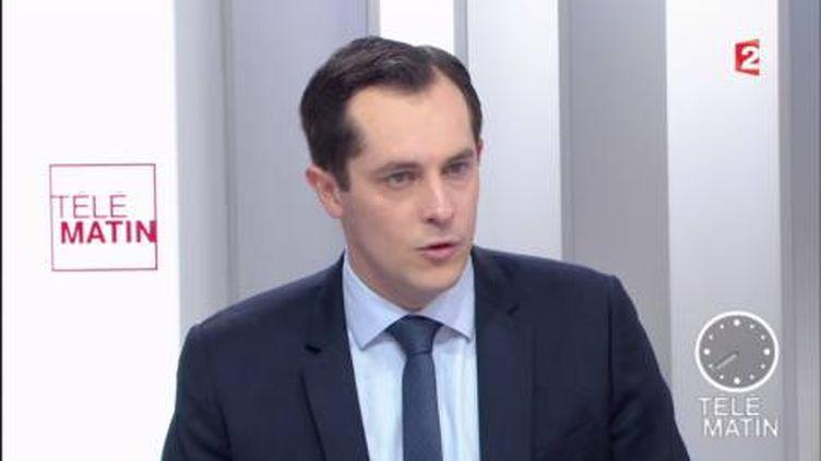 Nicolas Bay (FN) dans les 4 Vérités (France 2)