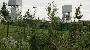 Le site d'enfouissement des déchets nucléaires de Bure (Meuse), le 23 août 2005. Des experts ont soulevé des risques en termes de sécurité incendie. (JEAN-CHRISTOPHE VERHAEGEN / AFP)