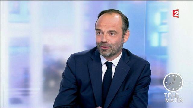 """Code du travail : Edouard Philippe défend une réfome """"équilibrée"""""""