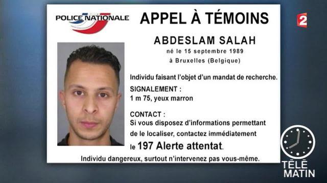 Attentats à Paris : Salah Abdeslam toujours recherché
