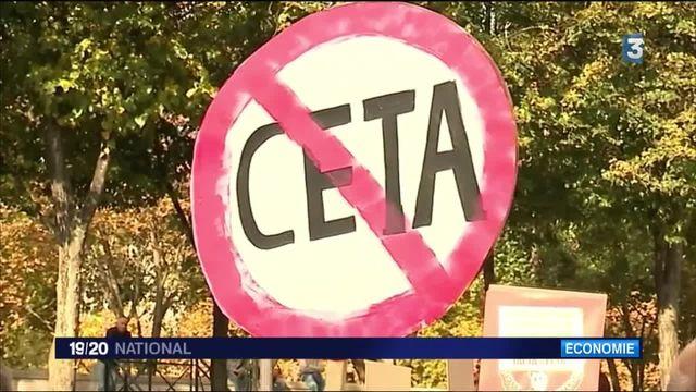 Commerce : manifestations contre le CETA