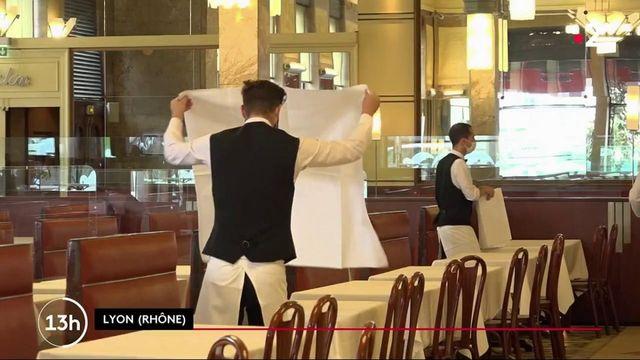 Restaurants : réouverture en salles le 9 juin