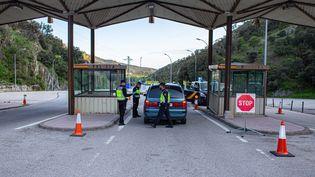 La frontière a rouvert entre la France et l'Espagne. (IDHIR BAHA / HANS LUCAS / AFP)