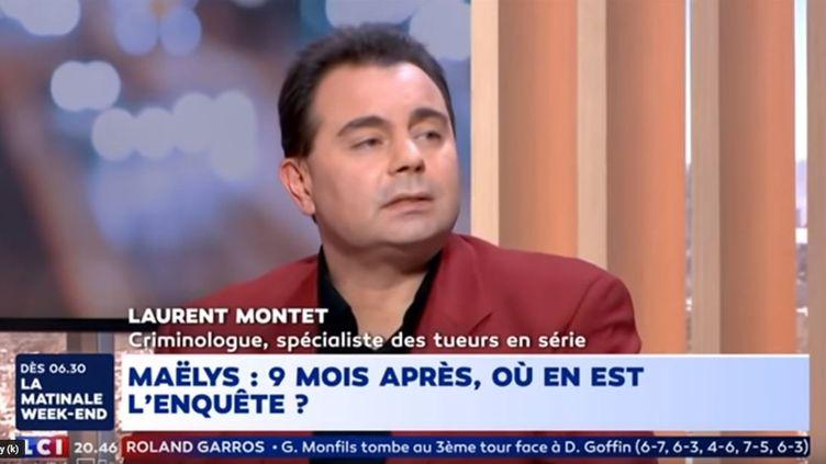Laurent Montet sur LCI le 2 juin 2018. (CAPTURE D'ÉCRAN)