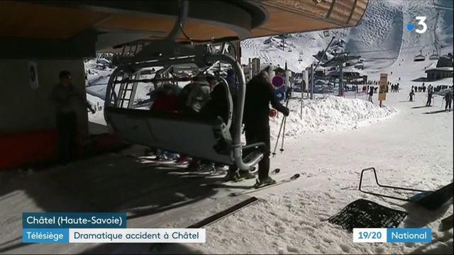 Haute-Savoie : dramatique accident de télésiège à Châtel