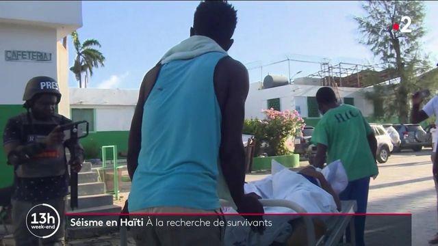 Haïti : au moins 300 morts et plus de 1 800 blessés au lendemain du séisme