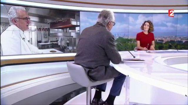 """Alain Ducasse : """"Moins de gras, moins de sel, moins de sucre, c'est une décision"""""""