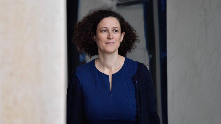 La secrétaire d'Etat à l'Ecologie Emmanuelle Wargon au palais de l'Elysée, mercredi 17 octobre 2018. (MAXPPP)