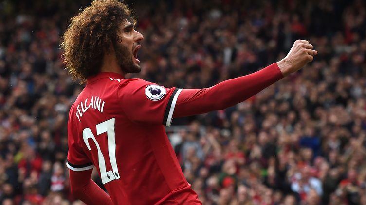 Marouane Fellaini (Manchester United) (PAUL ELLIS / AFP)