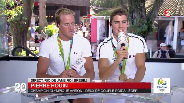 JO 2016 : quatre années de préparations ont payé pour Jérémie Azou et Pierre Houin