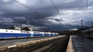 La gare de Marseille Saint-Charles, le 9 avril 2018. (ANNE-CHRISTINE POUJOULAT / AFP)