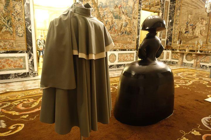Présentation de la collection automne-hiver 2020-21 dela marque Oteyza à Paris le 15 janvier 2020 lors de la PFW (CORINNE JEAMMET)