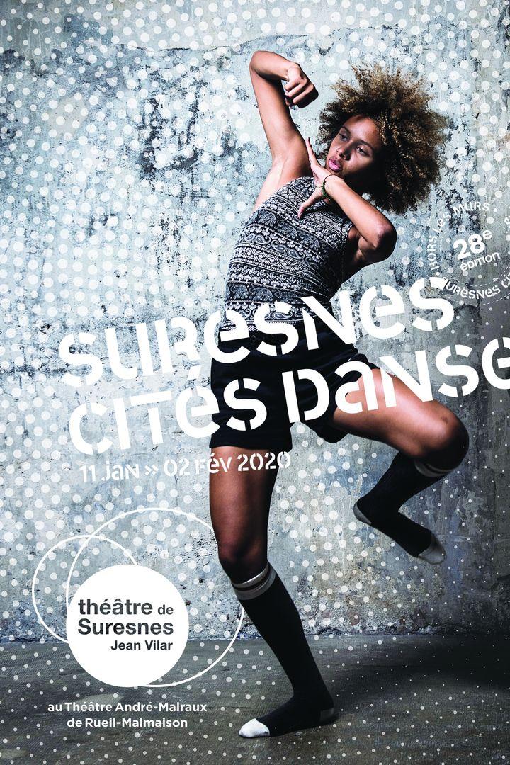 La danseuse marocaine Zineb Boujemaà l'affiche de la 28e édition de Surenes Cités Danse. (Julien Benhamou / Adeline Goyet)