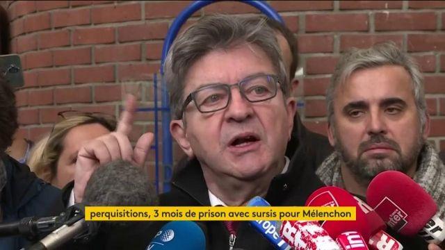 """""""C'est du n'importe quoi"""", dénonce Jean-Luc Mélenchon après sa condamnation"""