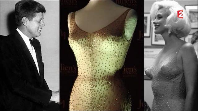 "Marilyn Monroe : sa robe du ""Happy Birthday President"" vendue à 4,8 millions de dollars"