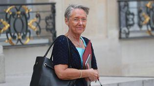 Elisabeth Borne au palais de l'Elysée, le 29 juin 2020, à Paris. (LUDOVIC MARIN / AFP)