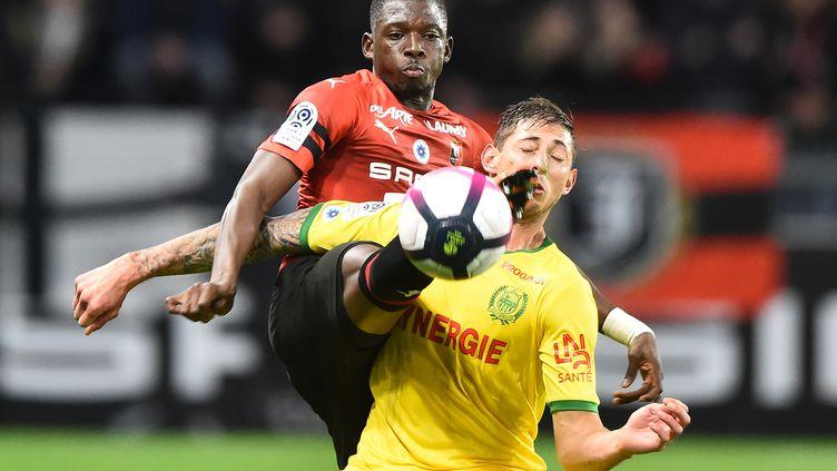 Rennes et Nantes face à face (JEAN-FRANCOIS MONIER / AFP)