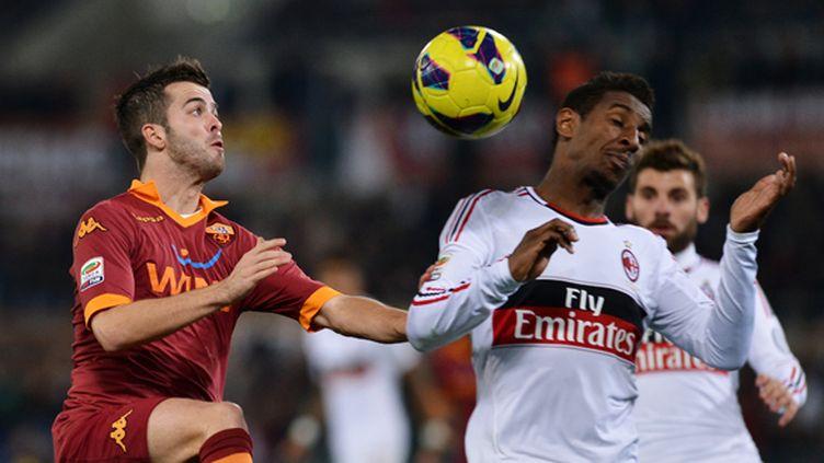 Constant et l'AC Milan ont coulé face à la Roma de Pjanic